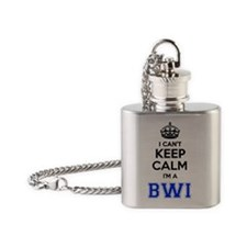 Cute Bwi Flask Necklace