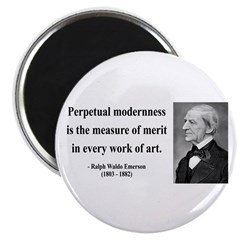 "Ralph Waldo Emerson 28 2.25"" Magnet (10 pack)"