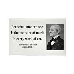 Ralph Waldo Emerson 28 Rectangle Magnet (100 pack)
