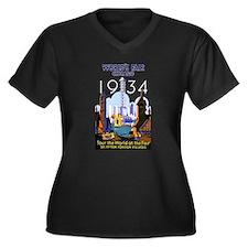 World's Fair Chicago 1934 Vintag Plus Size T-Shirt