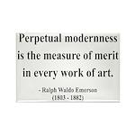 Ralph Waldo Emerson 28 Rectangle Magnet (10 pack)