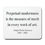 Ralph Waldo Emerson 28 Mousepad