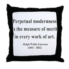 Ralph Waldo Emerson 28 Throw Pillow