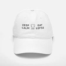 Keep Calm Eat Lefse Baseball Baseball Cap