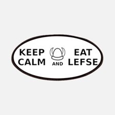 Keep Calm Eat Lefse Patches