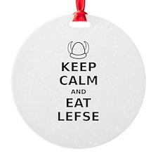 Keep Calm Eat Lefse Ornament