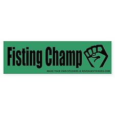 Fisting Champ - Revenge Stickers