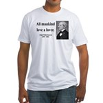 Ralph Waldo Emerson 29 Fitted T-Shirt