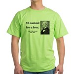 Ralph Waldo Emerson 29 Green T-Shirt