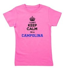 Cute Campolina Girl's Tee
