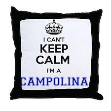 Unique Campolina Throw Pillow