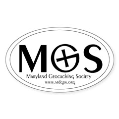MGS Oval Decal