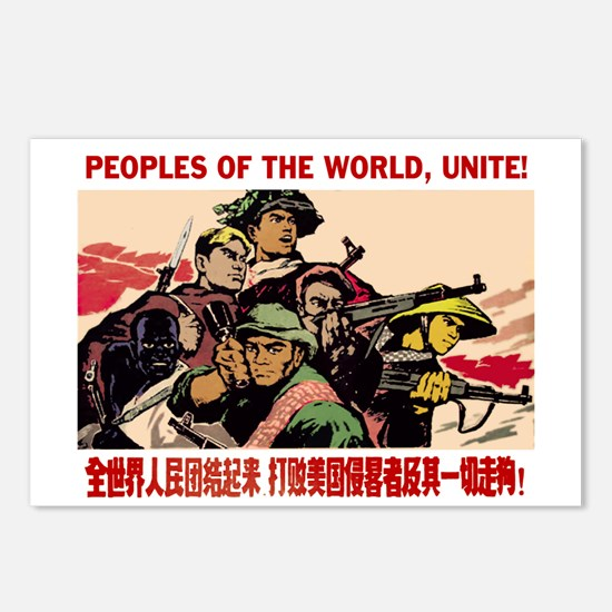 Peoples of the world Postcards (Package of 8)