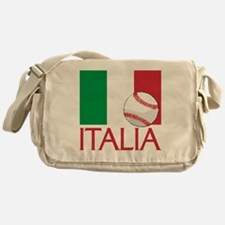 Italia Baseball Messenger Bag