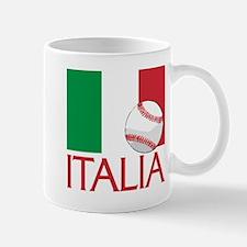 Italia Baseball Mug