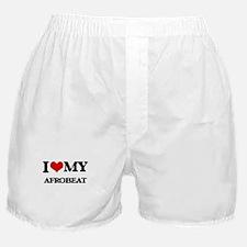 I Love My AFROBEAT Boxer Shorts