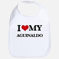 I Love My AGUINALDO Bib