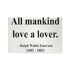 Ralph Waldo Emerson 29 Rectangle Magnet (10 pack)