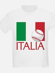 Italia Baseball T-Shirt