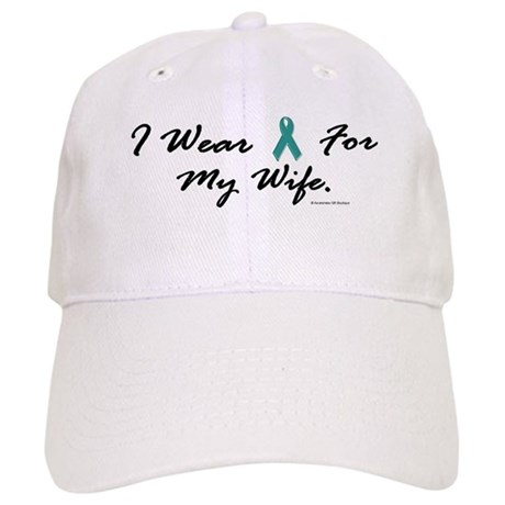 Wear Teal For My Wife 1 Cap