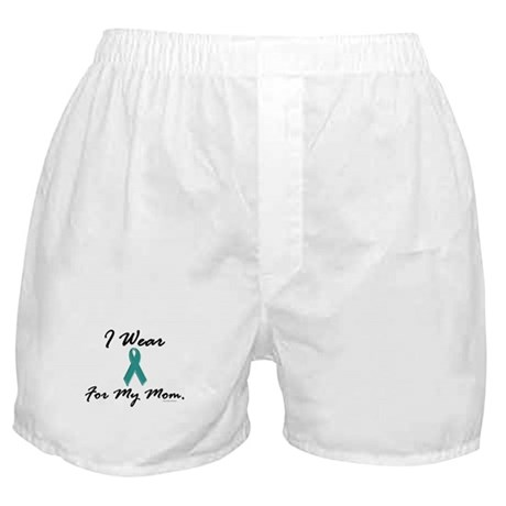 Wear Teal For My Mom 1 Boxer Shorts