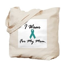 Wear Teal For My Mom 1 Tote Bag