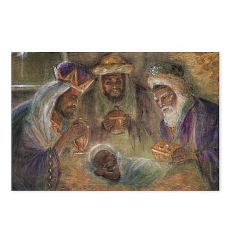 Black Baby Jesus Postcards (Package of 8)