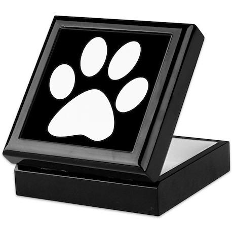 White & Black Basics Keepsake Box