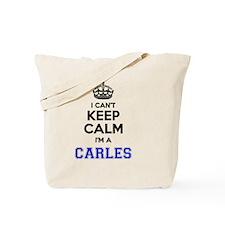 Cute Carles Tote Bag