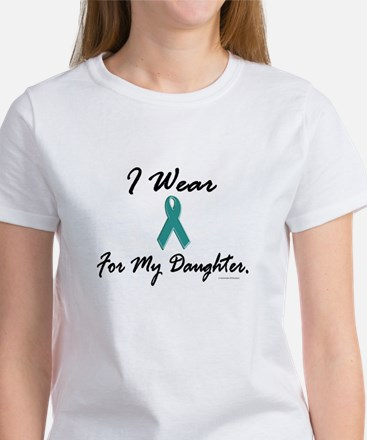 Wear Teal For My Daughter 1 Women's T-Shirt
