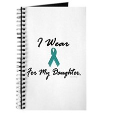 Wear Teal For My Daughter 1 Journal