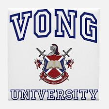 VONG University Tile Coaster
