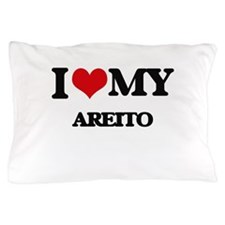 I Love My AREITO Pillow Case