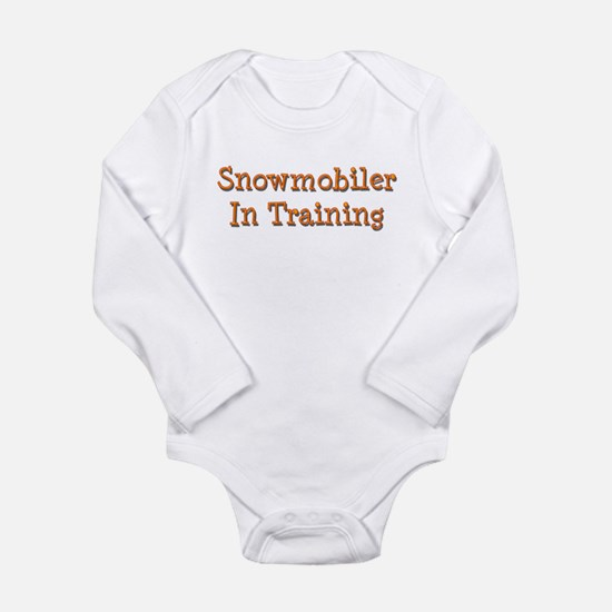 Unique Snow Long Sleeve Infant Bodysuit