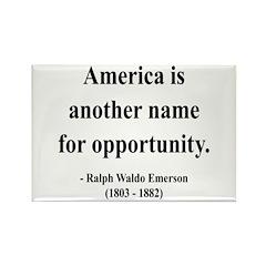Ralph Waldo Emerson 31 Rectangle Magnet (10 pack)