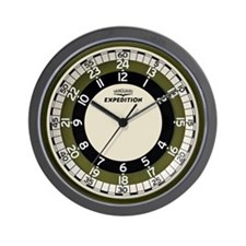 Vanguard Expedition Wall Clock