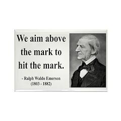 Ralph Waldo Emerson 32 Rectangle Magnet (100 pack)