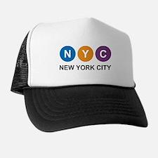 New York City, Subway symbol Trucker Hat