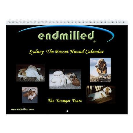 endmilled's Sydney The Basset Hound Calendar