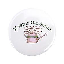 """MASTER GARDENER 3.5"""" Button"""