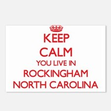 Keep calm you live in Roc Postcards (Package of 8)