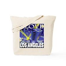 I Love Los Angeles Metropolis Tote Bag