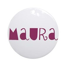 Maura Ornament (Round)