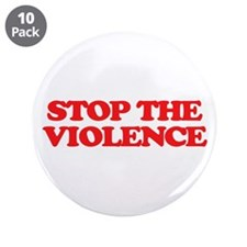 "Stop The Violence 3.5"" Button (10 pack)"