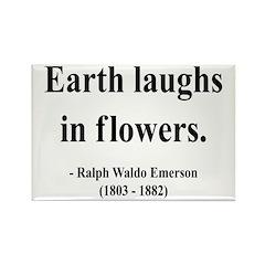 Ralph Waldo Emerson 33 Rectangle Magnet (100 pack)