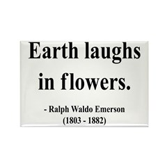 Ralph Waldo Emerson 33 Rectangle Magnet