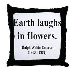 Ralph Waldo Emerson 33 Throw Pillow