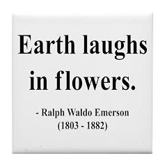 Ralph Waldo Emerson 33 Tile Coaster