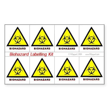Biohazard Labelling Kit