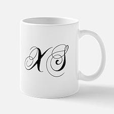 XS-cho black Mugs